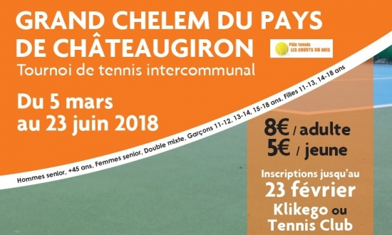Tournoi de tennis intercommunal